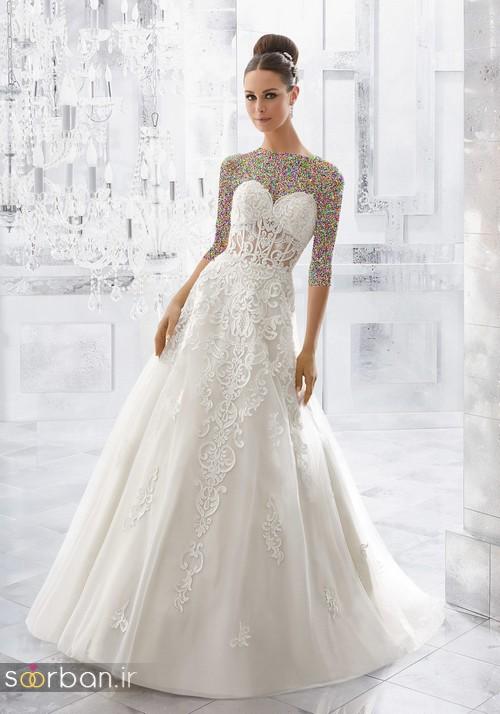 لباس عروس دانتل13