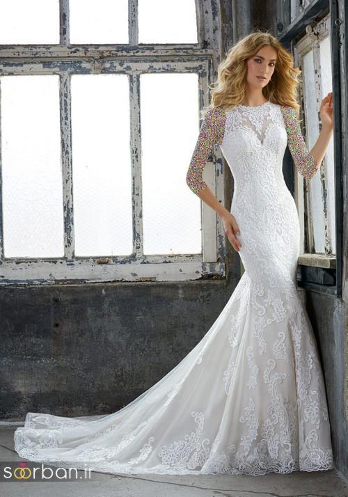 لباس عروس دانتل16