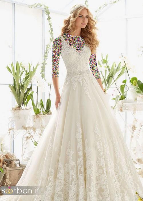لباس عروس دانتل0