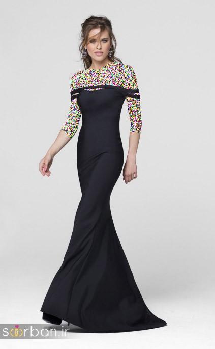 لباس مجلسی بلند پرنسسی شیک و زیبا