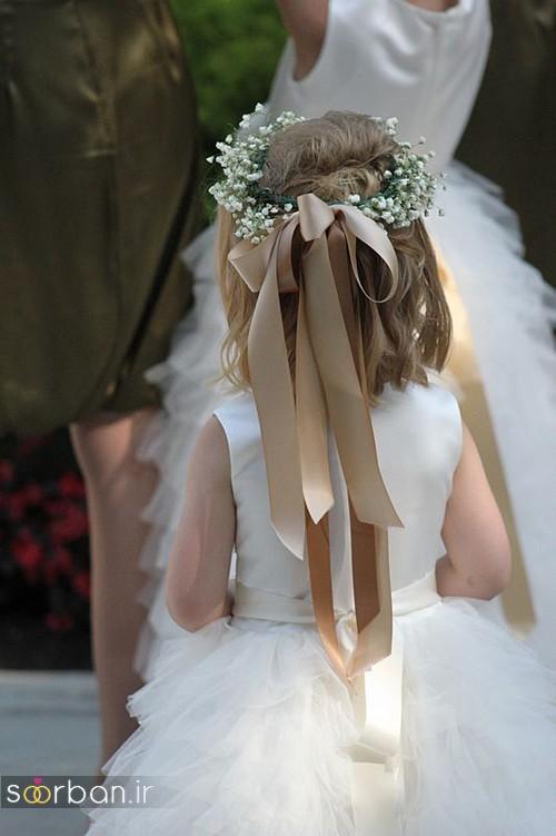 مدل مو بچگانه دختر برای عروسی خاص