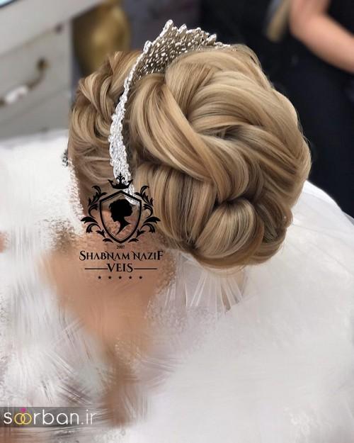مدل مو عروس ایرانی11