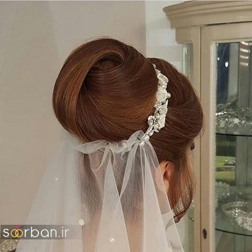 شینیون مو عروس ایرانی جدید4