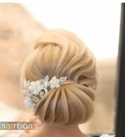 شینیون مو عروس ایرانی جدید9