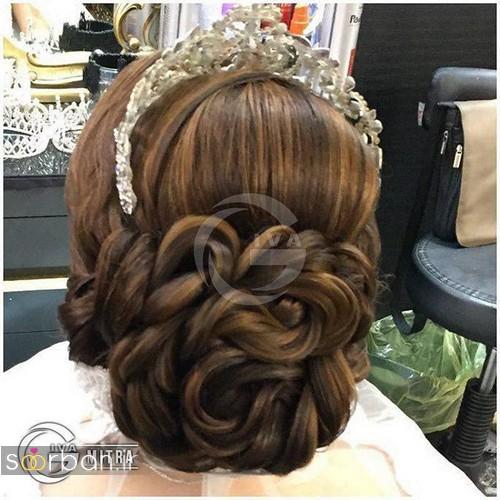 شینیون مو عروس ایرانی جدید18