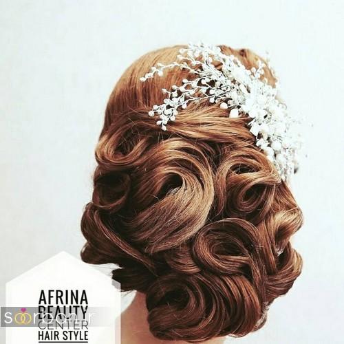 شینیون مو عروس ایرانی جدید23