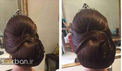 شینیون مو عروس ایرانی جدید31