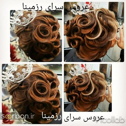 شینیون مو عروس ایرانی جدید37