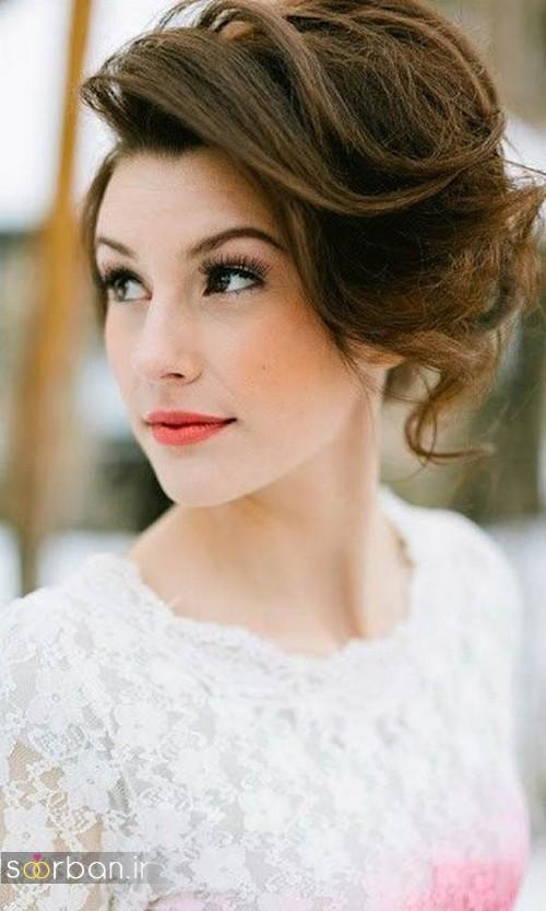 مدل مو کوتاه عروس جدید 2017