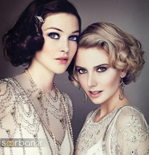 مدل مو عروس برای مو کوتاه جدید 2017