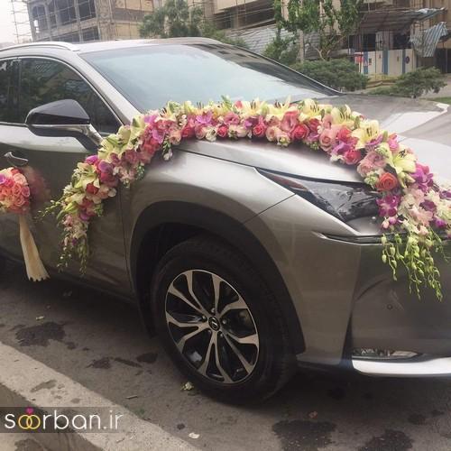 عکس ماشین عروس جدید و شیک-3