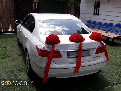 عکس ماشین عروس جدید و شیک-8