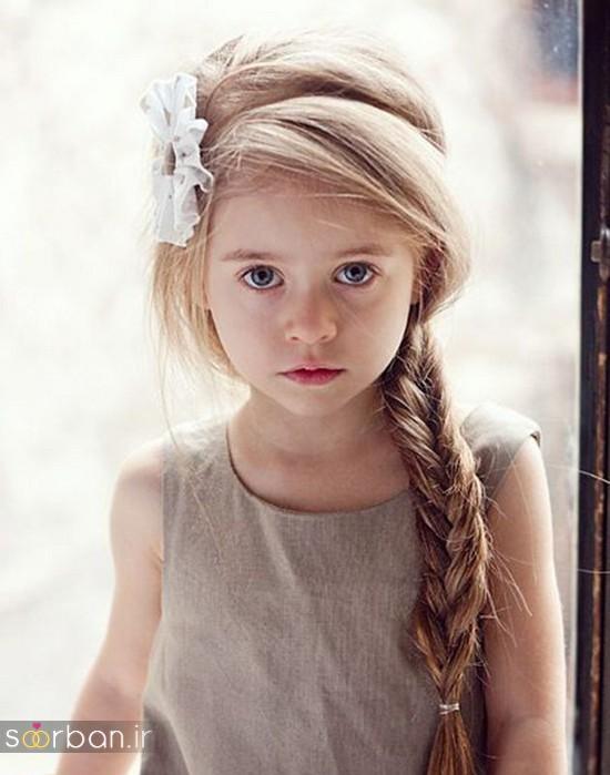 جدیدترین مدل مو بچه گانه دختر جدید -1