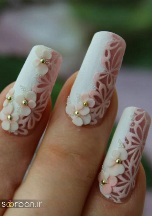 طراحی ناخن عروس 96-6
