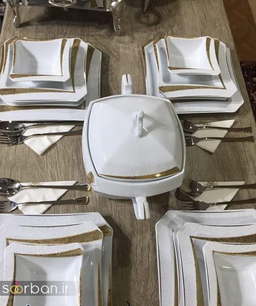 مدل های سرویس چینی جهیزیه عروس -15