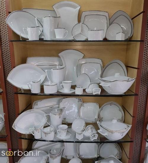 جدیدترین مدلهای ظروف چینی توس