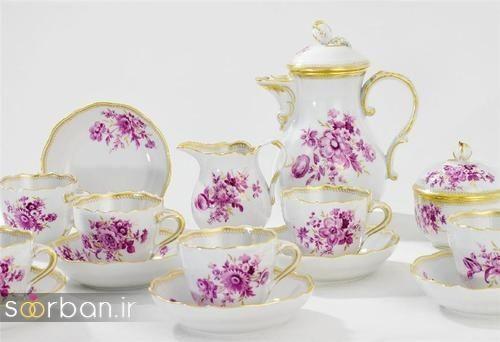 سرویس چای خوری جهیزیه عروس-1