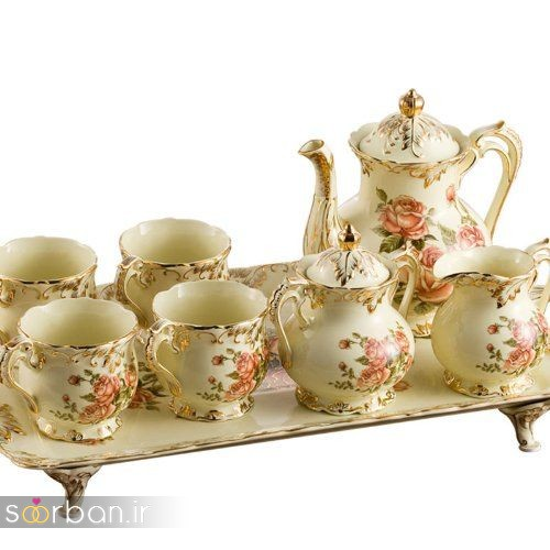 سرویس چای خوری جهیزیه عروس-2