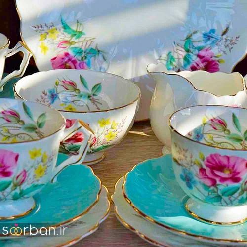سرویس چای خوری جهیزیه عروس-3