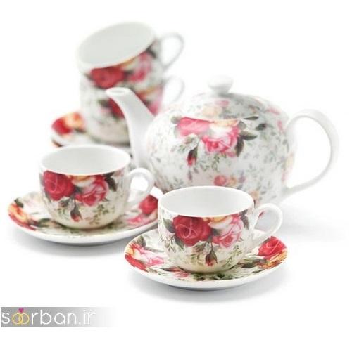 سرویس چای خوری جهیزیه عروس-4