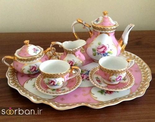 سرویس چای خوری جهیزیه عروس-6