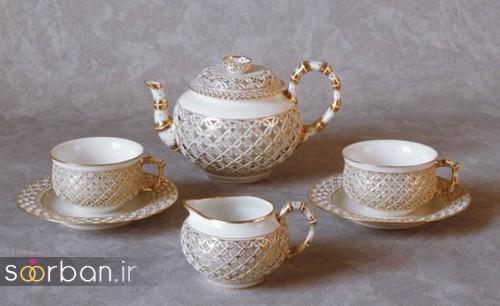 سرویس چای خوری جهیزیه عروس-9