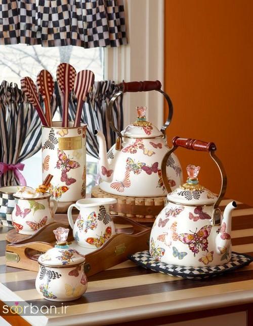 سرویس چای خوری جهیزیه عروس-10