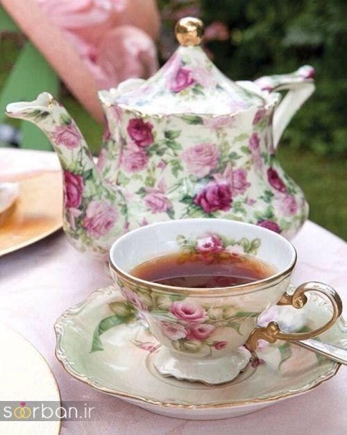 سرویس چای خوری جهیزیه عروس-11