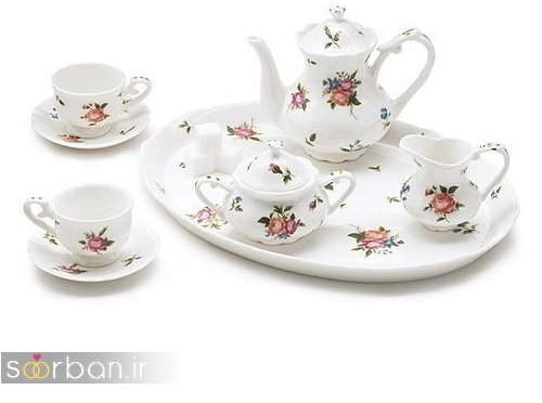 سرویس چای خوری جهیزیه عروس-12