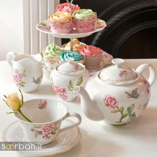 سرویس چای خوری جهیزیه عروس-15