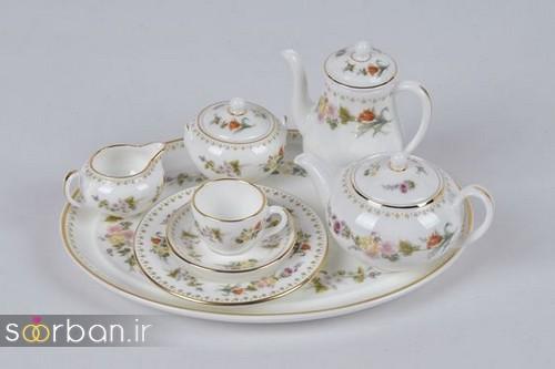 سرویس چای خوری جهیزیه عروس-17