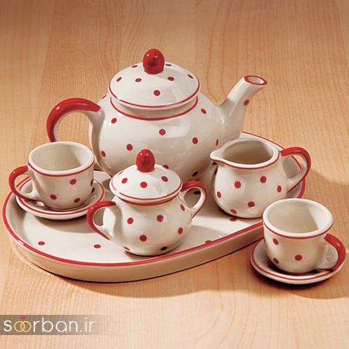 سرویس چای خوری جهیزیه عروس-18