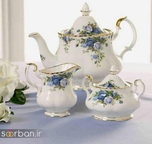 سرویس چای خوری جهیزیه عروس-19