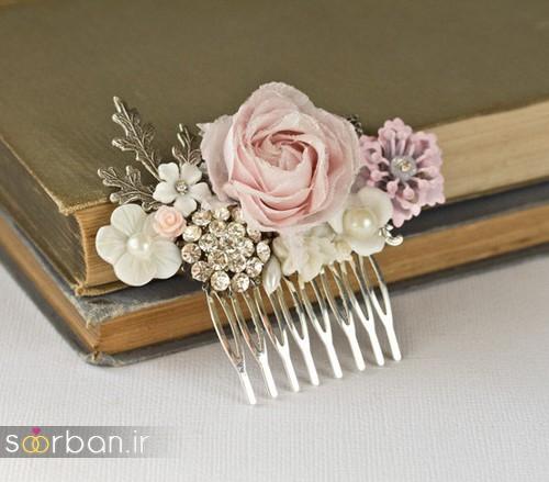 شانه تزیینی مو عروس