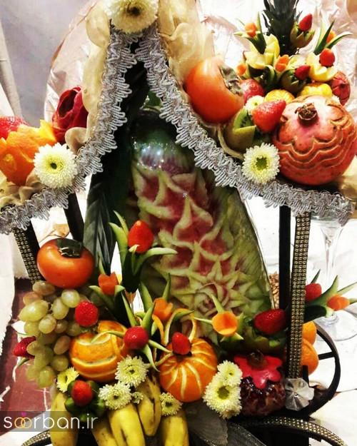 گالری تزیین شب یلدا عروس و میز شب چله-2