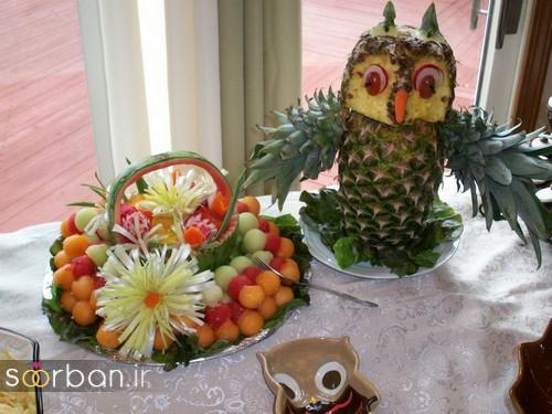 گالری تزیین شب یلدا عروس و میز شب چله-8