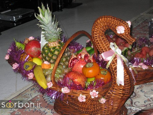 گالری تزیین شب یلدا عروس و میز شب چله-17