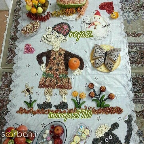 گالری تزیین شب یلدا عروس و میز شب چله-19
