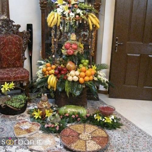 گالری تزیین شب یلدا عروس و میز شب چله-11