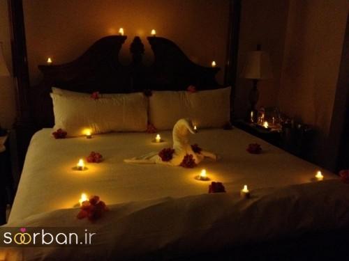تزیین اتاق خواب ولنتاین