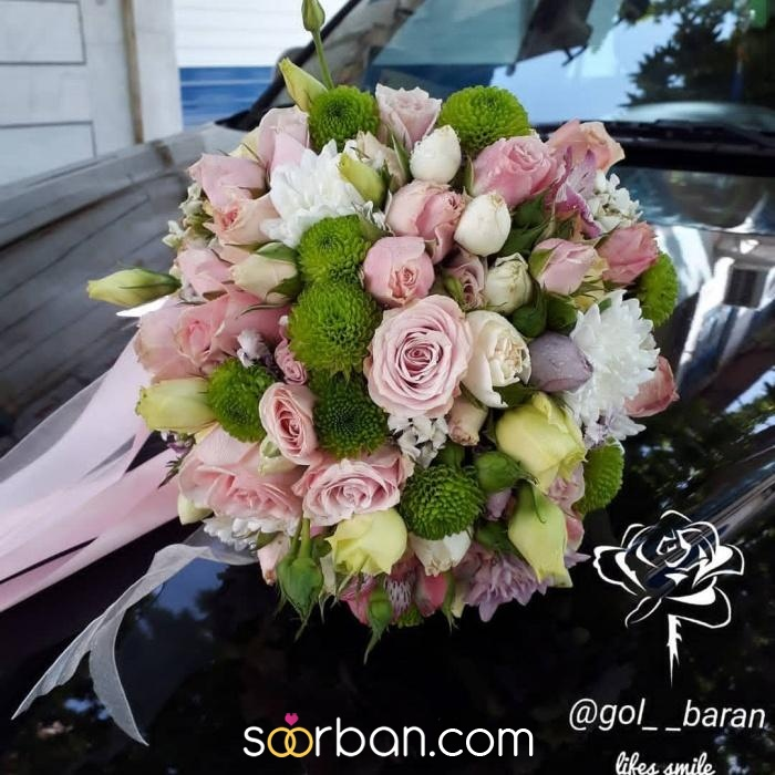 انواع دسته گل عروس خرم اباد5