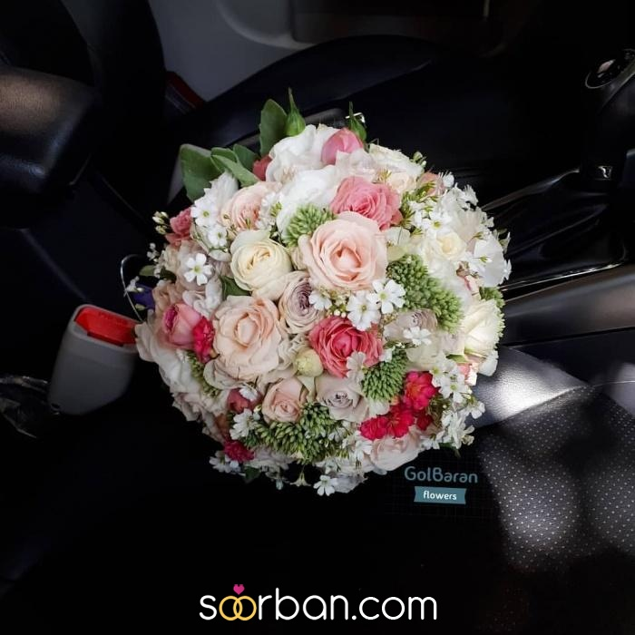 انواع دسته گل عروس خرم اباد7