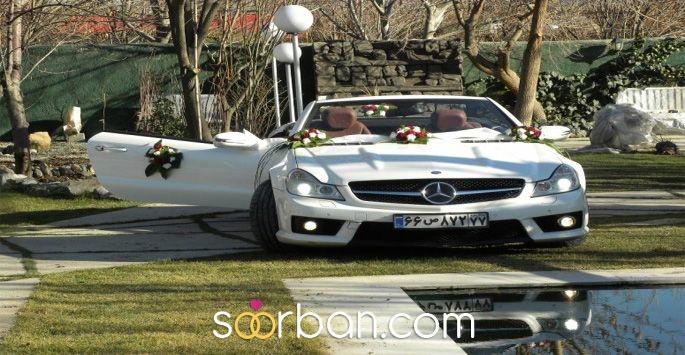 اجاره ماشین عروس لوکس در تهران
