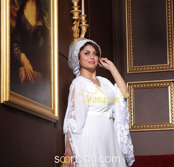 مزون لباس فرمالیته و مجلسی و مانتوهای عقد مونازون در تهران11