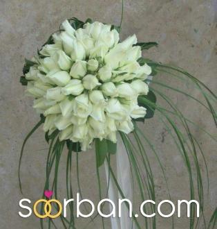 انواع دسته گل عروس قم2