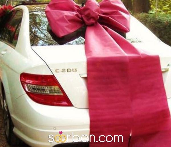 پکیج گل آرایی دسته گل و ماشین عروس