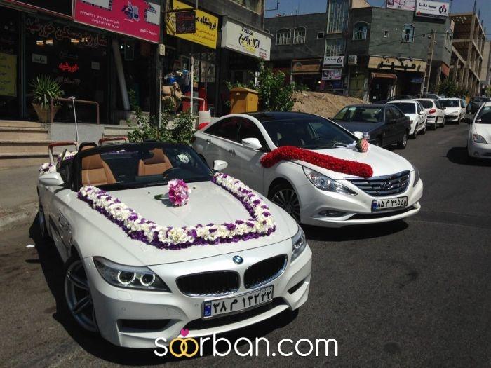 گل آرايى تخصصى ماشين در محل شما0