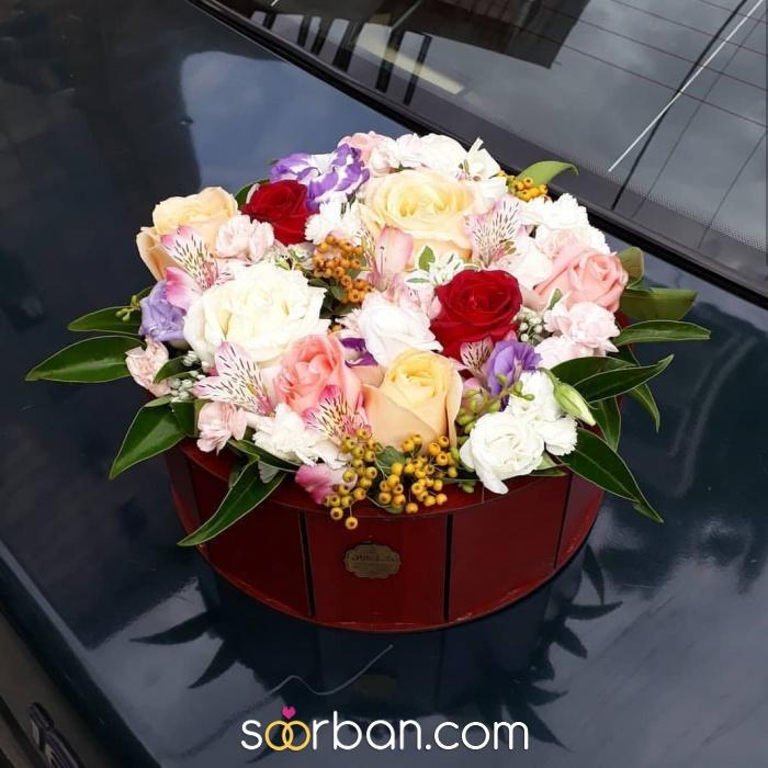 ثبت سفارش انواع باکس گل خرم اباد2