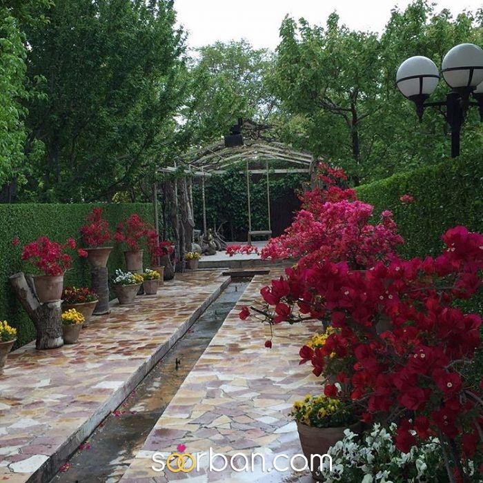 باغ عمارت دل آرا در شهریار2