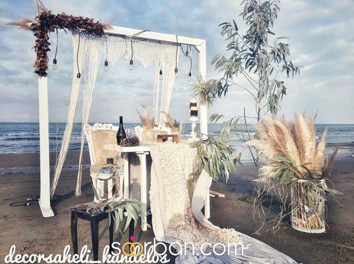 دكور عروس ساحلي كندلوس در عباس آباد0